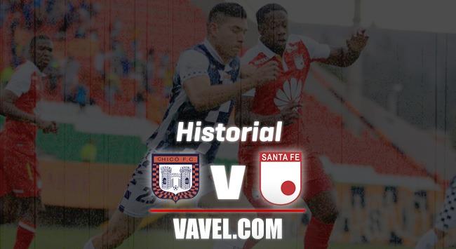 Historial Boyacá Chicó vs Independiente Santa Fe: los cardenales conservan la ventaja