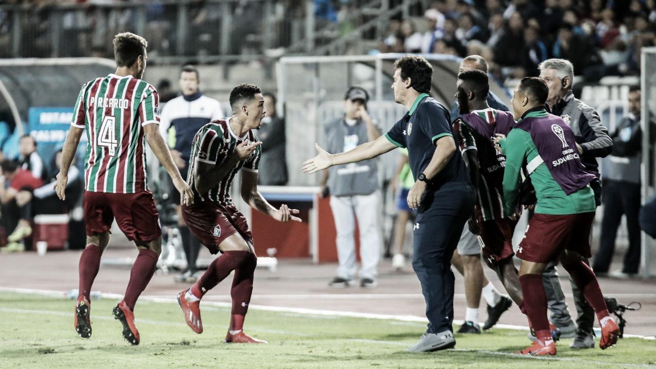 Fluminense joga melhor, vence Antofagasta-CHI e se classifica na Sul-Americana