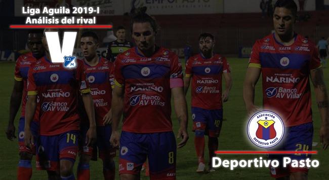Millonarios, análisis del rival: Deportivo Pasto