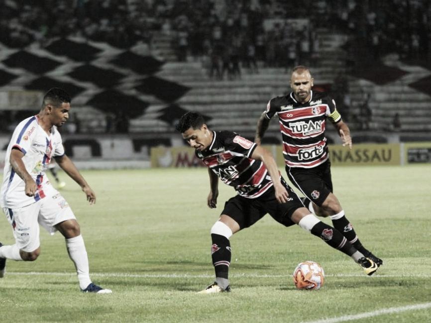 Após eliminação no estadual, Santa Cruz encara Confiança pela Copa do Nordeste