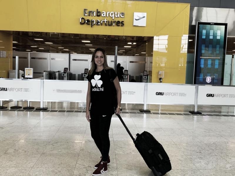 """Após vitória no clássico paulista, Érika foca na Seleção: """"Durante essa semana é virar a chave"""""""