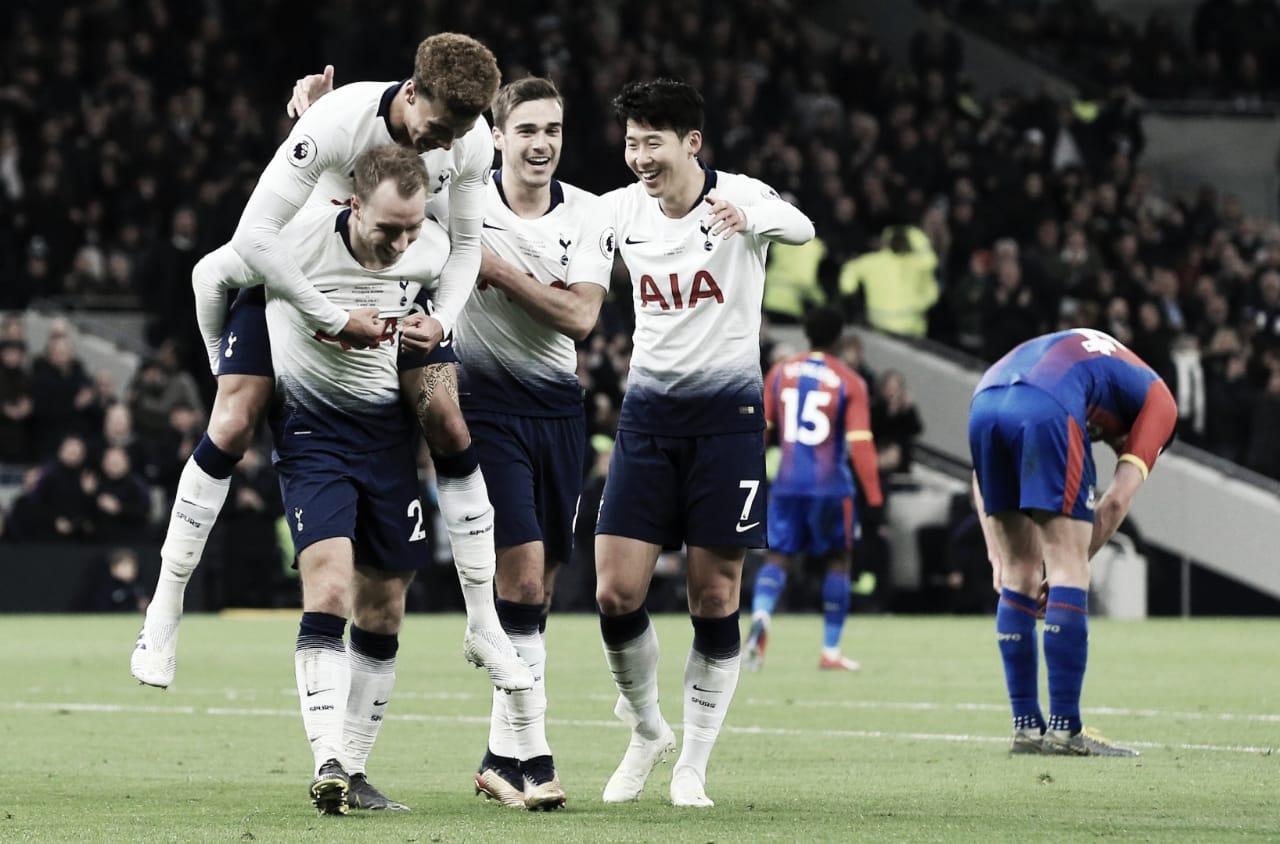Pé direito! Tottenham bate Crystal Palace na estreia do Hotspur Stadium pela PL