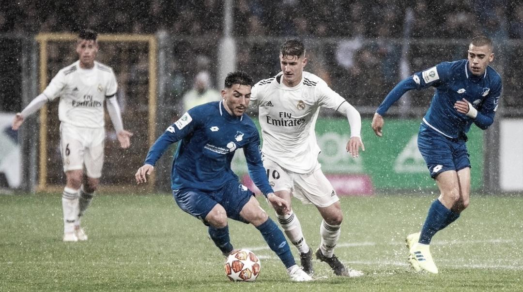 El Hoffenheim ahoga al Real Madrid en cuartos de la Youth League