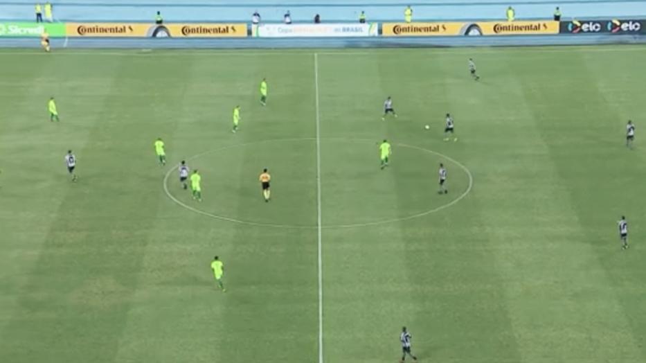 Resultado e gols de Botafogo x Juventude pela Copa do Brasil 2019 (1-1)