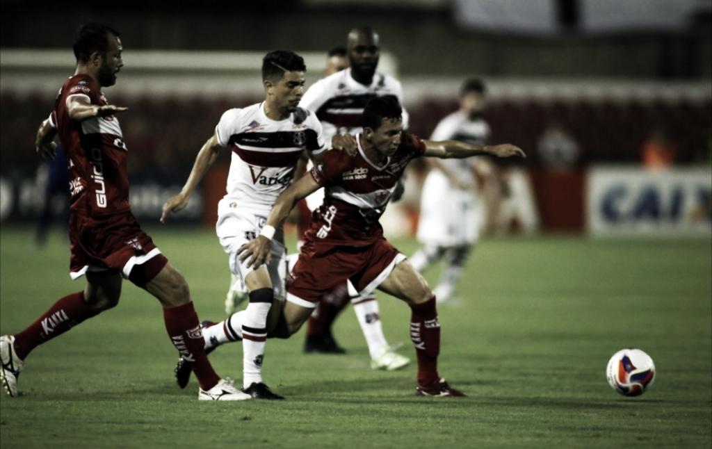 Santa Cruz e CRB se enfrentam pelas quartas de final da Copa do Nordeste