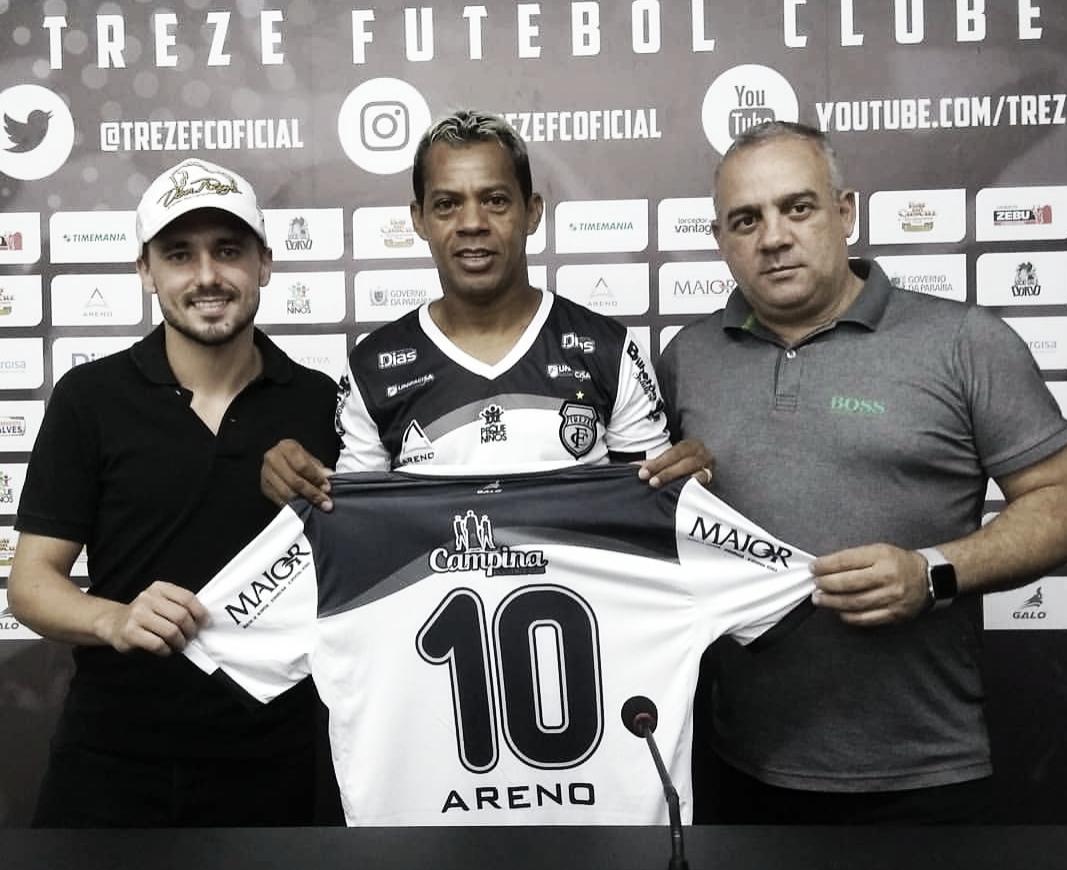 Marcelinho Paraíba volta ao Treze para a disputa da Série C