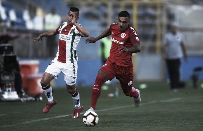 Internacional e Palestino fazem confronto direto pela liderança do Grupo A da Libertadores