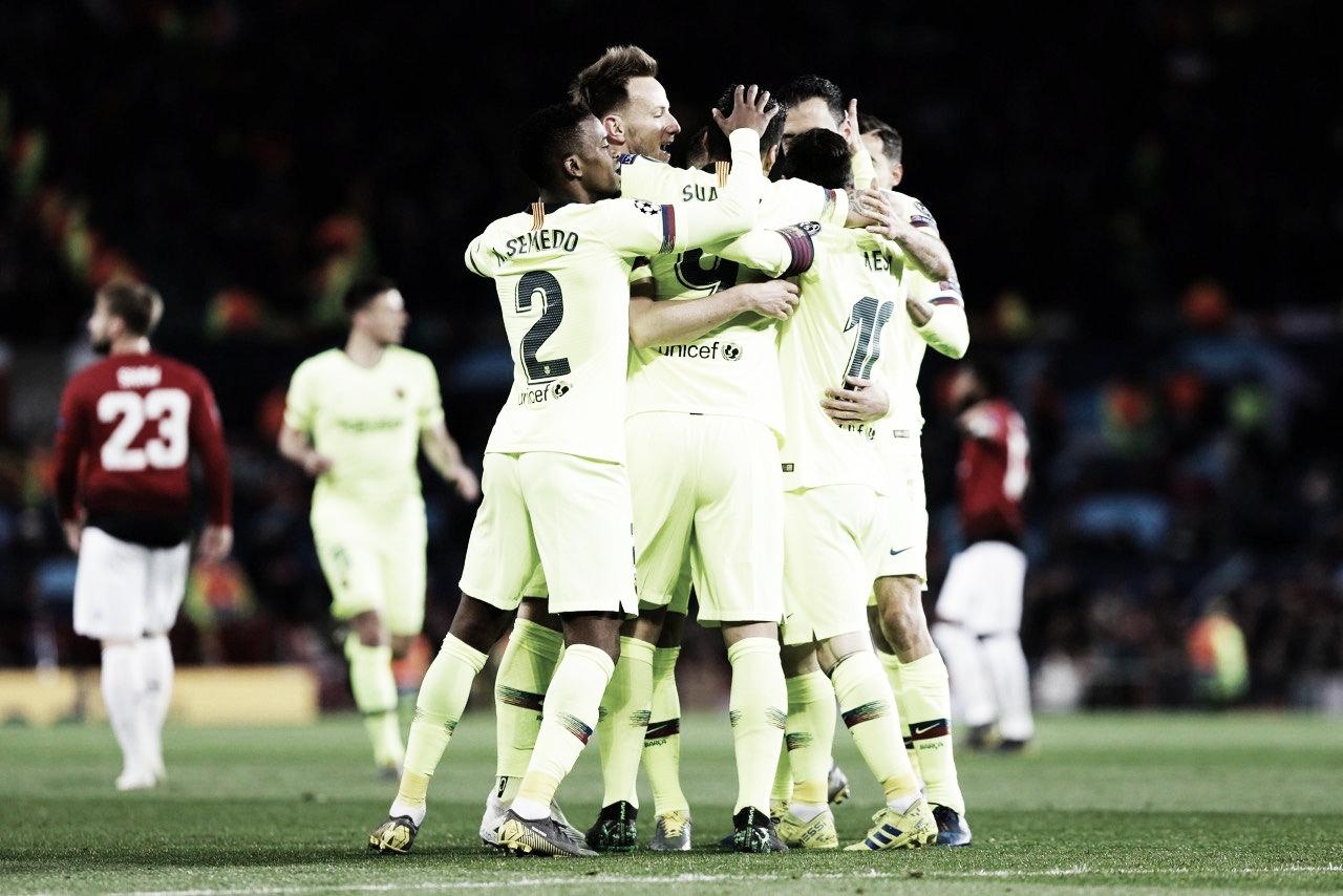 Barcelona vence Manchester United no Old Trafford e consegue vantagem nas quartas