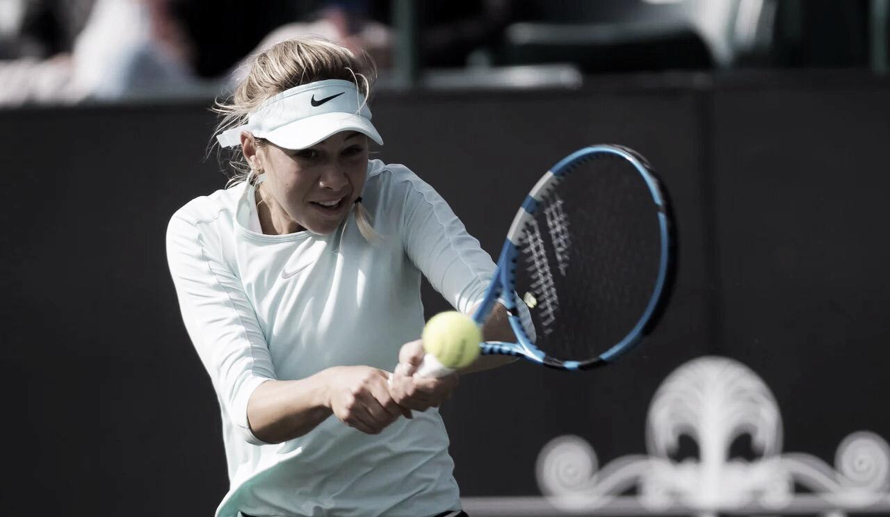 Anisimova derrota Lepchenko em dois sets e vai às quartas em Bogotá