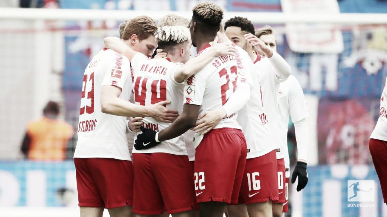 RB Leipzig bate Wolfsburg e se firma como terceira força da Bundesliga
