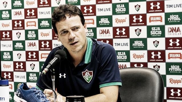 Fernando Diniz afirma que Fluminense fez o seu melhor jogo no ano contra Santa Cruz