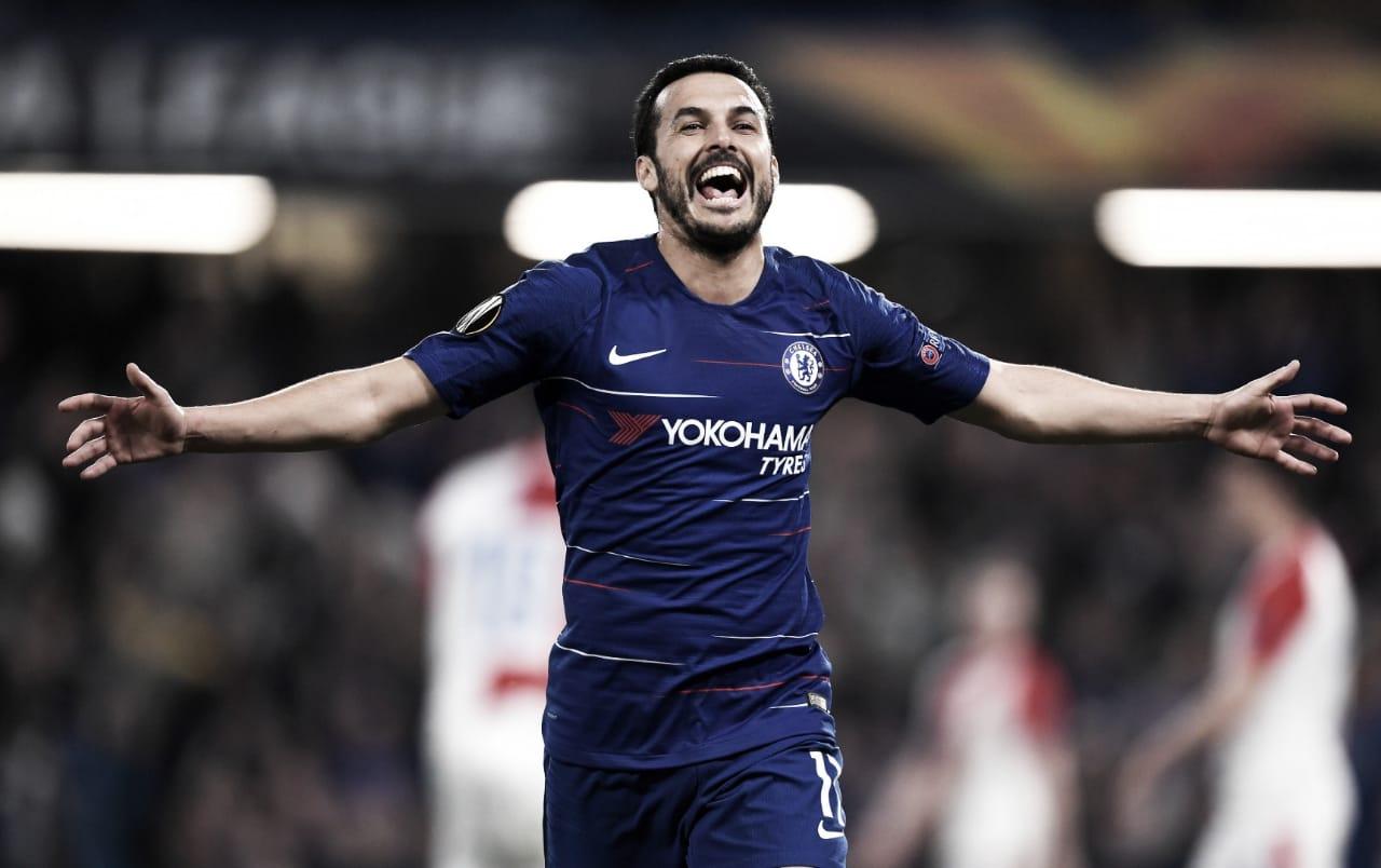 Em partida de sete gols, Chelsea bate Slavia Praha e vai às semis da Europa League