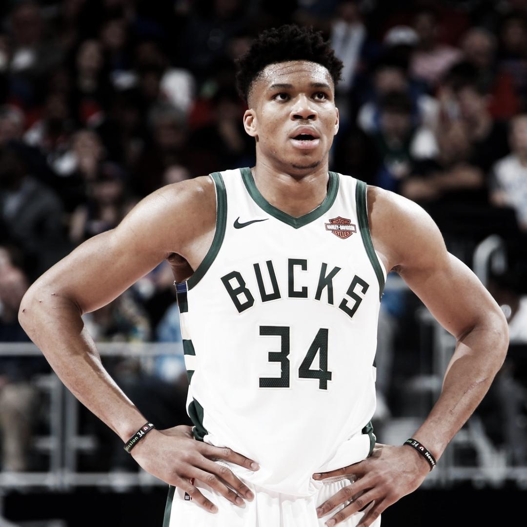 Com show de Antetokounmpo, Bucks vencem Pistons e finalizam série com varrida