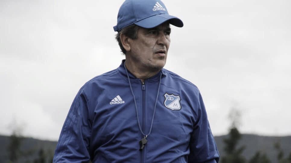 """Jorge Luis Pinto: """"La base de Copa Aguila tiene la responsabilidad de asegurar el primer puesto"""""""