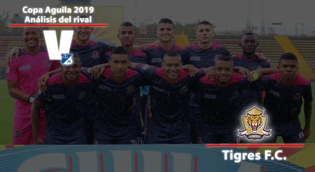 Millonarios, análisis del rival: Tigres Fútbol Club