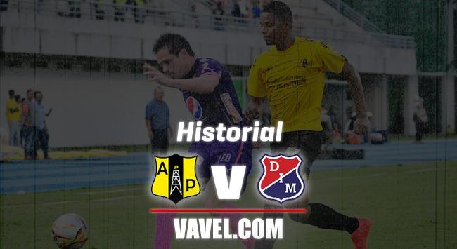Historial Alianza Petrolera vs Independiente Medellín: paternidad roja
