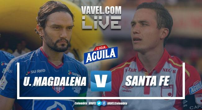 Independiente Santa Fe cae ante Unión Magdalena en la fecha 18 de la Liga Aguila 2019-I