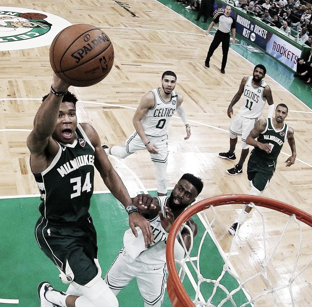 Bucks vencem Celtics e estão a uma vitória da classificação