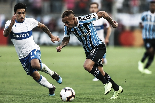 Grêmio e U. Católica duelam em busca da classificação ao mata-mata da Libertadores
