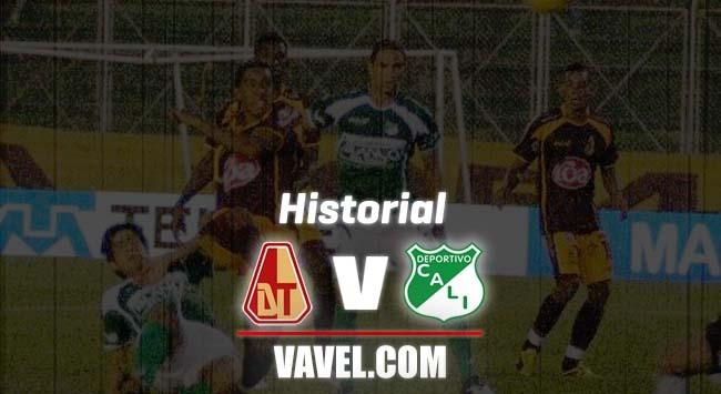 Historial Tolima vs Cali: Será el encuentro 200 entre ambos equipos