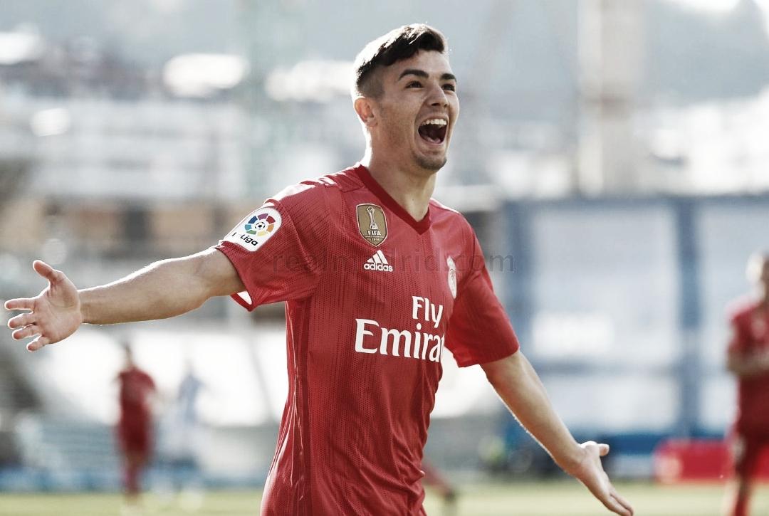 Brahim, elegido el mejor jugador del Real Madrid ante la Real Sociedad