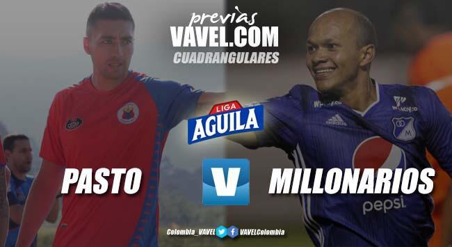Previa Deportivo Pasto vs Millonarios: El duelo de los líderes del grupo A