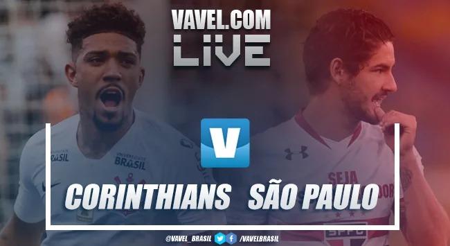 Assistir Corinthians x São Paulo AO VIVO em tempo real no Brasileirão hoje (1-0)