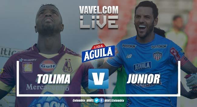 Deportes Tolima vs Atlético Junior por la Liga Aguila 2019-I en vivo y en directo online