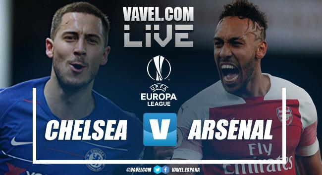 Resumen Chelsea 4-1 Arsenal en la Final de la Europa League 2019