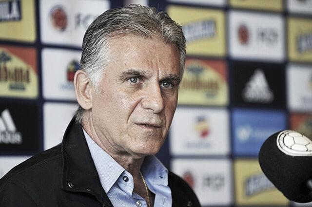 Queiroz entregó los 23 convocados para la Copa América