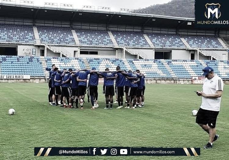 Millonarios definió sus jugadores para el partido en Santa Marta.