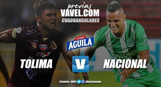 Previa Deportes Tolima vs Atlético Nacional: partido para tomar el carril rápido hacia la final