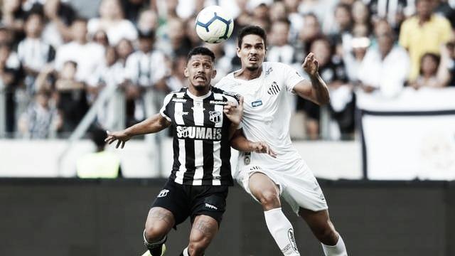 Jogo Santos x Ceará AO VIVO online pelo Campeonato Brasileiro 2019