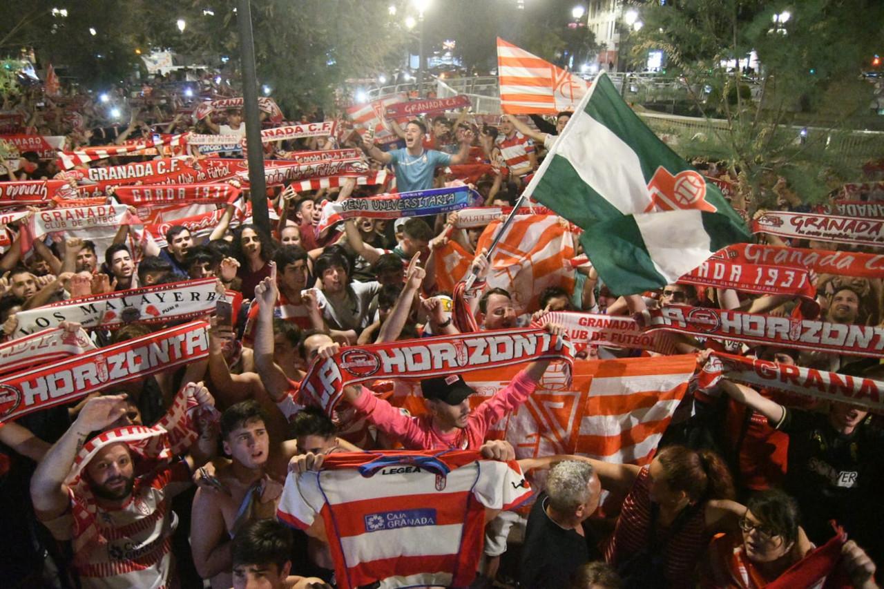 Los actos del Granada CF para celebrar su ascenso