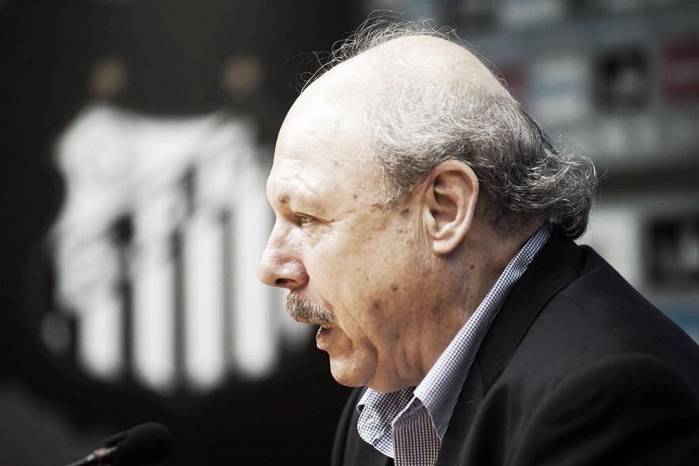 """Jose Carlos Peres se irrita e dispara contra a CBF após eliminação santista: """"Conseguiu o que queria"""""""