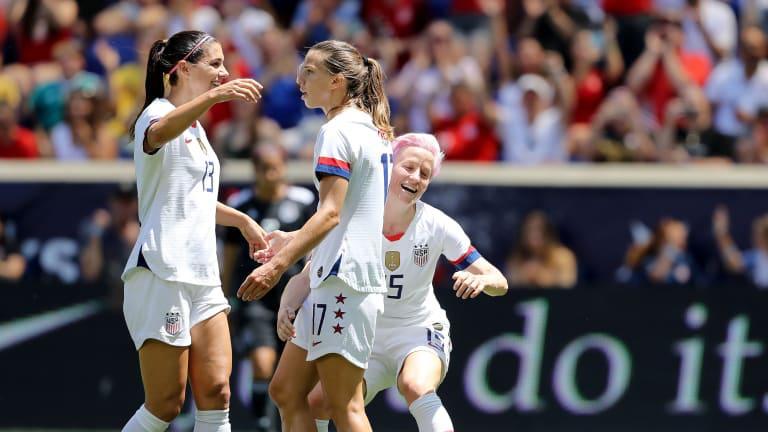 Gols e Melhores Momentos jogo Estados Unidos x Tailândia pela Copa do Mundo Feminina (13-0)