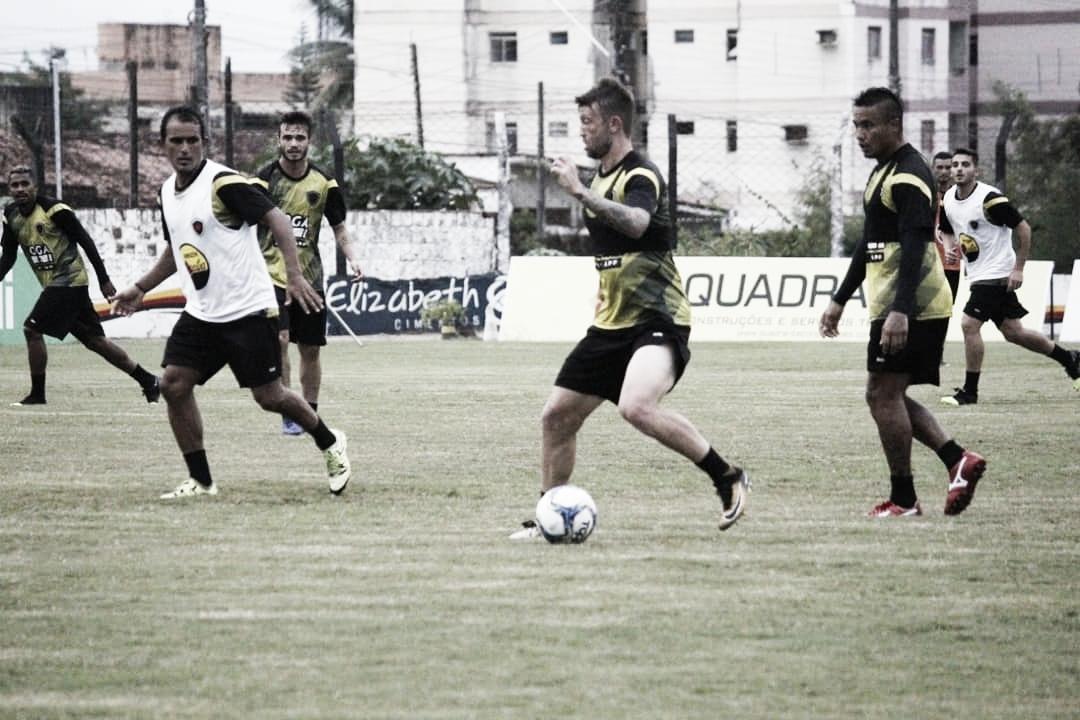 Botafogo-PB segue se preparando para encarar o Náutico no final de semana