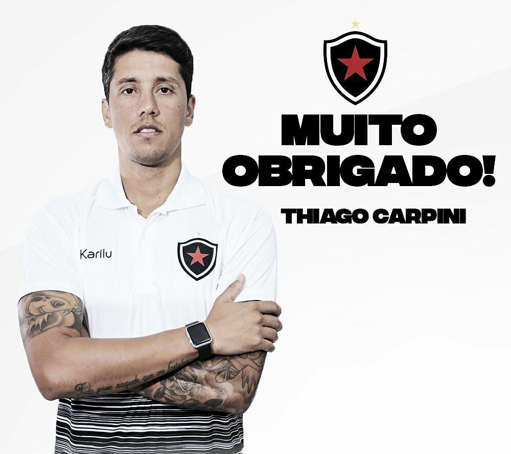 Botafogo-PB encerra preparação para encarar o Náutico e oficializa saída de auxiliar-técnico