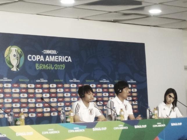 Shibasaki elogia Kubo e espera ser uma das lideranças do Japão na Copa América