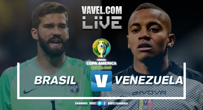 Resumen Brasil vs Venezuela por la segunda fecha del grupo A de la copa América Brasil 2019 (0-0)