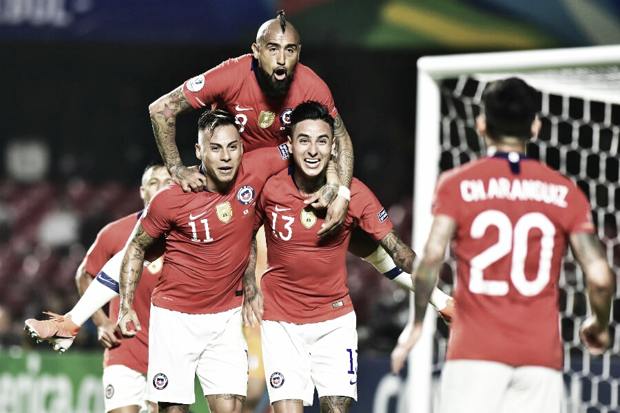 Chile 4 Japón 0: triunfo categórico y golpe de autoridad del bicampeón de copa
