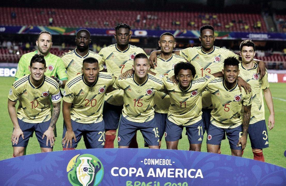 Colombia logró vencer la presión y clasificó a cuartos de final