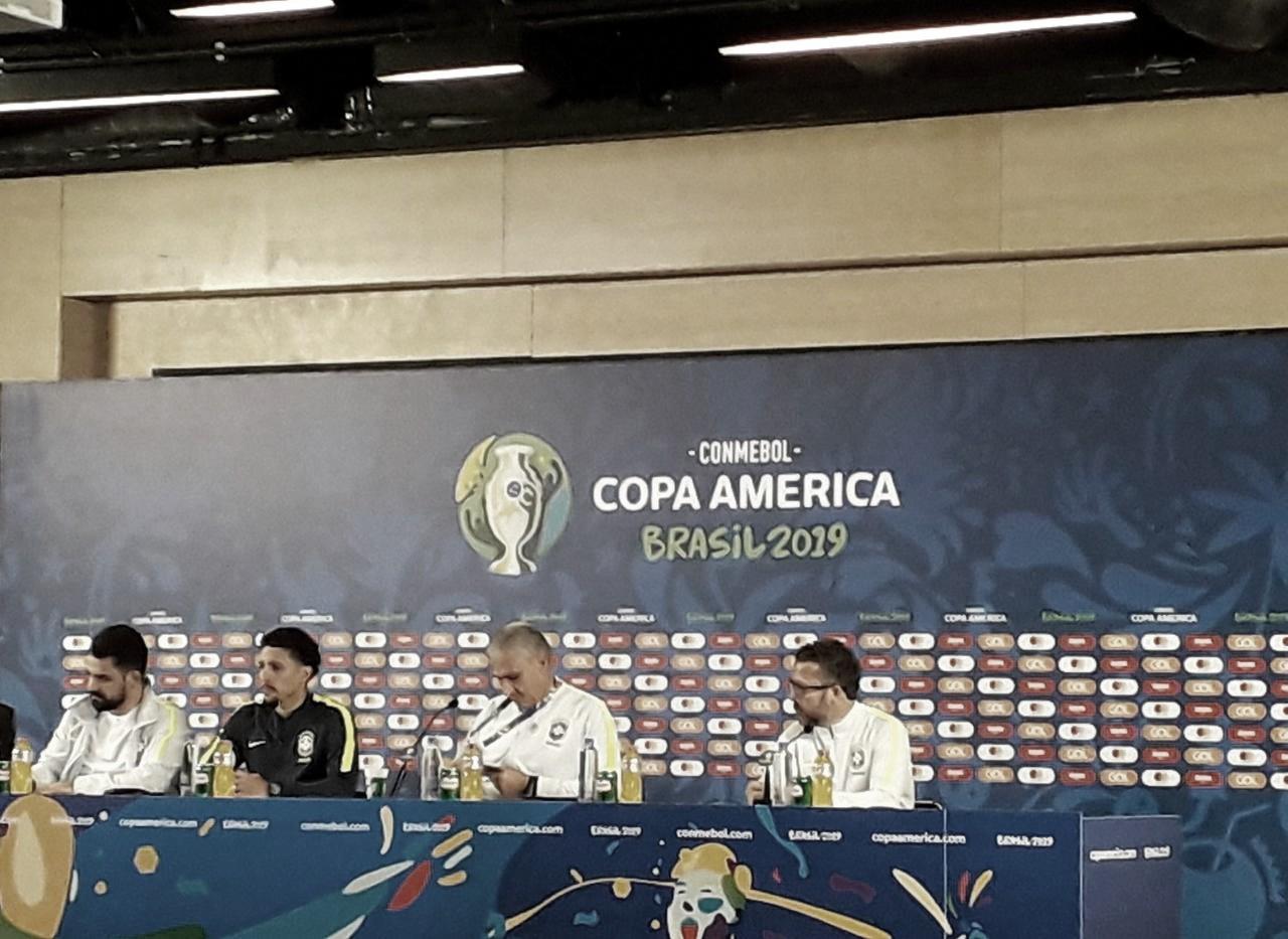 """Marquinhos elogia Guerrero e pede foco para Brasil contra Peru: """"Tem que entrar concentrado"""""""