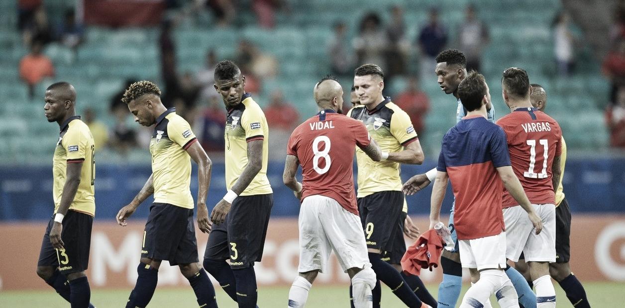 Chile lidera el grupo C de la Copa América tras derrotar a Ecuador