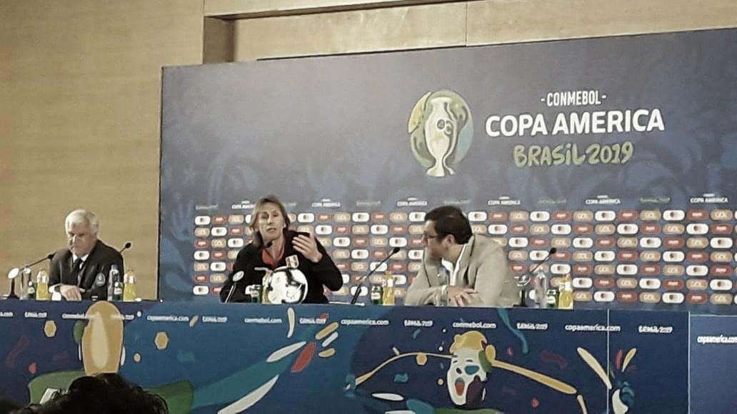 Ricardo Gareca assume responsabilidade após goleada sofrida contra Brasil