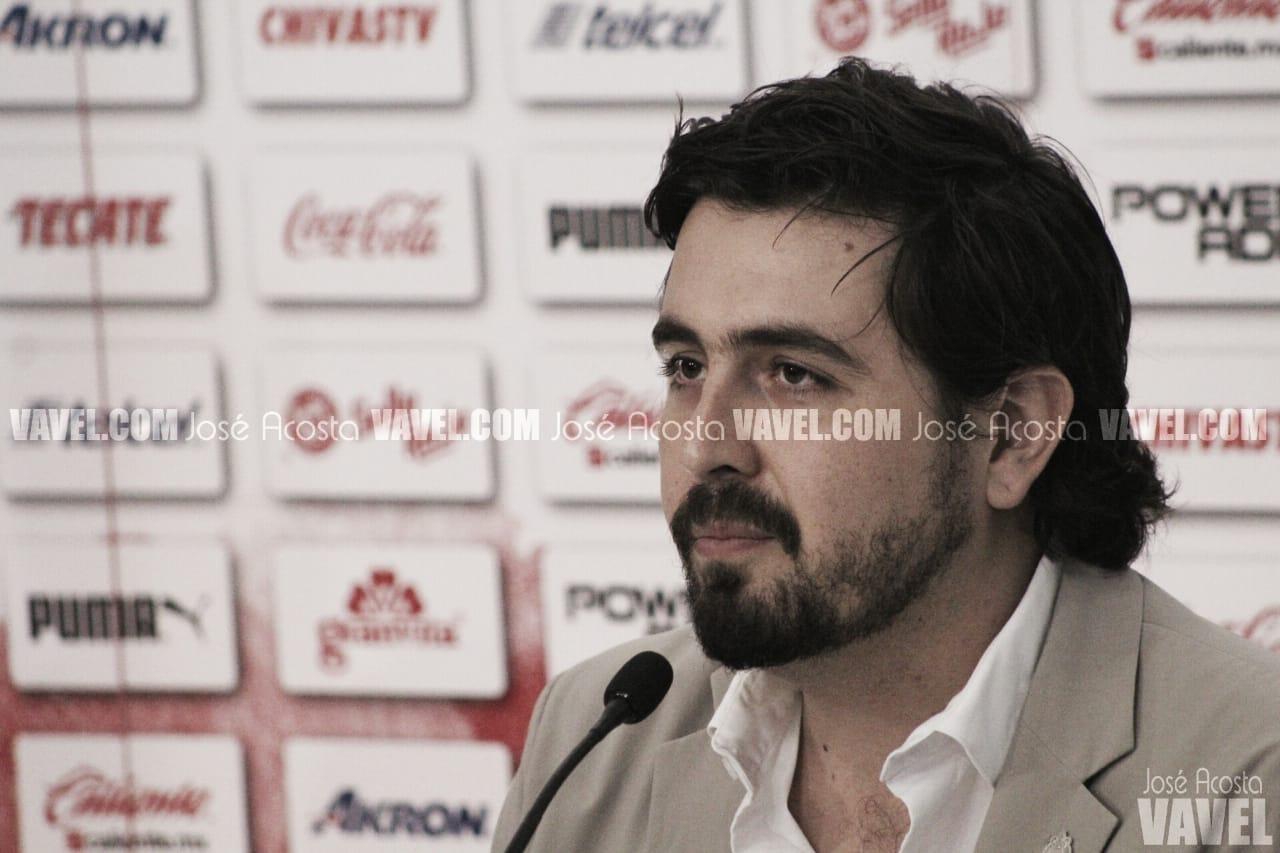 """Amaury Vergara: """"No todo mundo quiere que Chivas esté bien"""""""