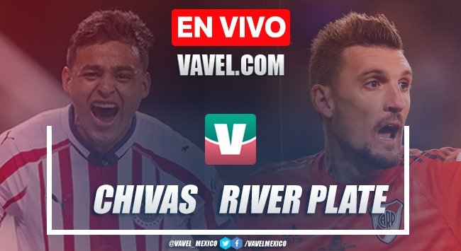 Goles y resumen: Chivas 1-5 River Plate en Colossus Cup 2019