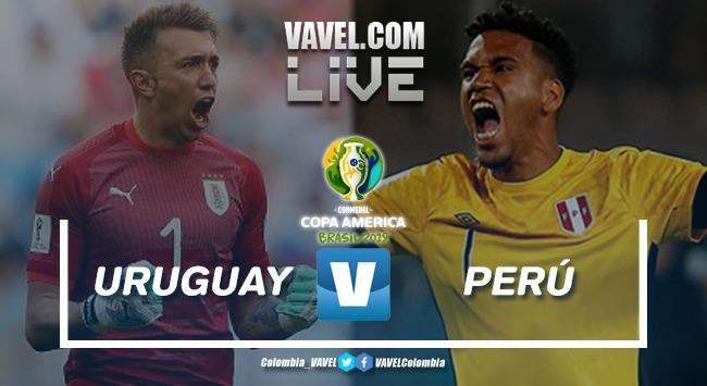 Resumen Uruguay vs Perú por la Copa América 2019 (0(4)-0(5))