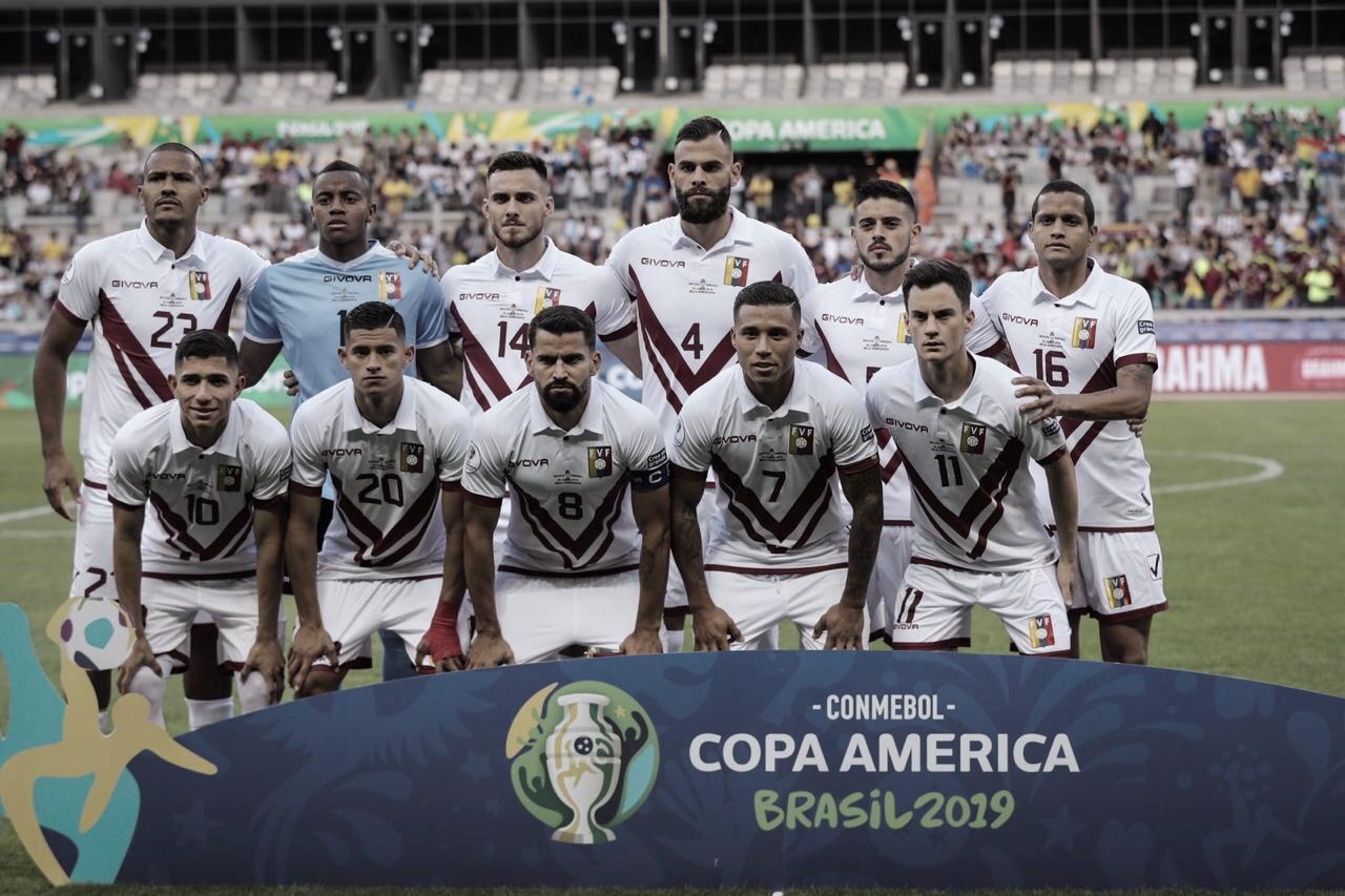 Vivendo grande fase, Venezuela enfrenta Argentina pela Copa América
