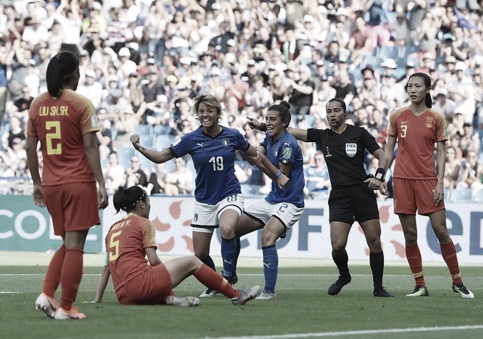 Gols E Melhores Momentos De Italia X Holanda Pela Copa Do Mundo Feminino 2019 0 2 29 06 2019 Vavel Brasil